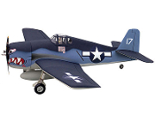 "ESM F6F Hellcat 72"" Wingspan RC Model Airplane"