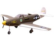 "ESM P-39 AIRACOBRA COLOR F  80"" WINGSPAN MODEL ARF"
