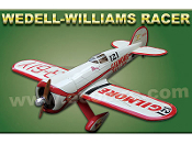"ECOMRC Wedell-Williams Racer 88"" Wingspan Model ARF"