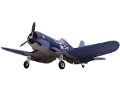 "ESM F4U Corsair Color F 74"" Wingspan Model ARF"