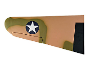 "ESM P40 Warhawk 50cc Tora Color F87"" Left Wing"