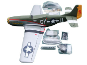 "ESM P-51D Mustang Gunfighter Color B 71"" Wingspan ARF"