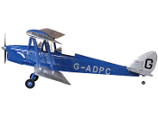 "ECOMRC de Havilland DH 82 Tiger Moth 88"" Radio Control Airplane"