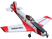 "ECOMRC Zlin Z-526 AFS Color B Red and White 82"" Model ARF"