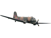 "ESM DC-3 III Color C Camouflage 103.9"" Wingspan Model ARF"