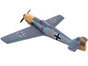 "ESM BF-109 Messerschmitt aka ME-109 Color A 73"" Model ARF"