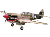 "ESM P-40 Warhawk 50cc Tora Color F 87"" Wingspan Model ARF"