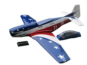 "ESM P-51D Mustang Miss America Color A 71"" Wingspan Model ARF"