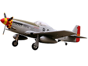"ESM North American P-51D Mustang Glamorous Glenn Color F 71"" ARF"