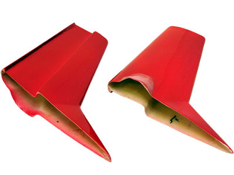 "ESM DHC-2 Beaver Color B Red and Black 95"" Lower landing Cover"