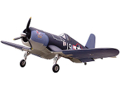 "ESM F4U Corsair 50cc 85"" Wingspan Model ARF"