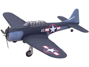 "ESM SBD-5 Douglas Dauntless Color F 71"" Wingspan Model ARF"