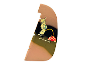 "ESM P40 Warhawk 50cc Tora Color F 87"" Replacement Rudder"