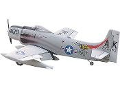 "ESM A1 Skyraider Color A #409 Stinger 71"" Wingspan Model ARF"
