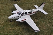 "Beechcraft Baron G58 75""wingspan - All Composite Scale ARF Plane"