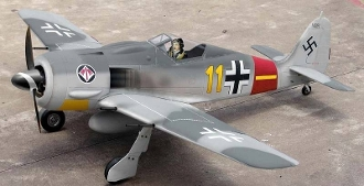 "ESM FW-190 Focke-Wulf Color F 71"" Model ARF Warbird Airplane"