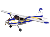 ESM Cessna 185 Color B Blue and Gold 86.6""