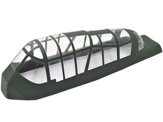 "ESM Ju 87 D Stuka 80"" Wingspan Replacement Canopy-OUT OF STOCK"