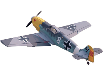 "ESM BF-109 Messerschmitt aka ME-109 Color A 73"" Wingspan Model A"