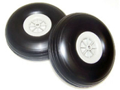 4.5 rubber tires - pair