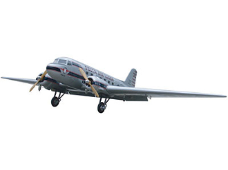 "ESM DC-3 I Color A Silver 103.9"" Wingspan Model ARF"