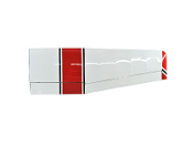 "ESM Cessna 185 Skywagon 86.6"" Wingspan Color A Red/Black Right"