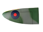 "ESM Spitfire Camouflage Color F 50cc 89"" Replacement Left Wing"