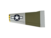"ESM P-51B Mustang Color A Bald Eagle 71"" Model Replacement wing"