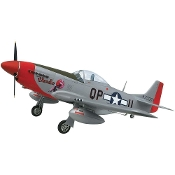 P-51D Mustang, Scale RC Plane (Blondie)