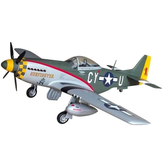 P-51D Mustang, Scale RC Plane (Gun Fighter)